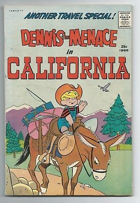 Dennis the Menace #33 In California GD/VG Summer 1965 - Giant-Size