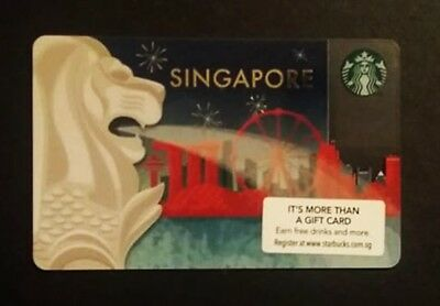 Starbucks Card Singapore, Rare!! Sammelkarte, Gift Card, Neu