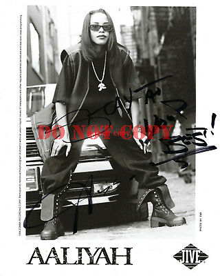 AALIYAH Autographed 8x10 Signed Photo Reprint