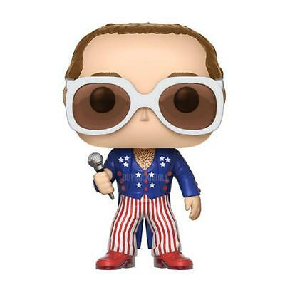 Pre-Order: Elton John: 2017 Funko POP Rocks! Red White & Blue Pop! Vinyl Figure
