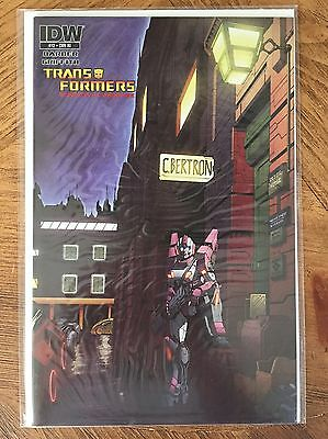 Transformers RID Robots In Disguise 12 RI Variant RARE IDW NM Ziggy Bowie