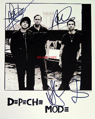 DEPECHE MODE David Gahan Autographed 8x10 Signed Photo Reprint