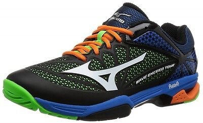 Mizuno Tennis Shoes Wave Exceed Tour 2 OC 61GB1672  01 Black× White×Light Green