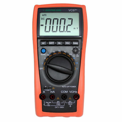 AideTek VC97 3 3/­4 Auto range digital multimeter all func prot hold buzz diode