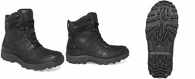 The North Face Mens Boots Chilkat Leather Waterproof Boots Black Color 9.5M, 11M