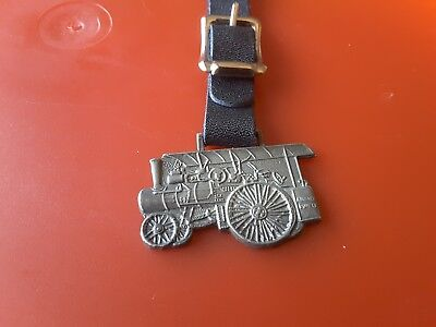 Advance Rumely Steam Tractor Watch Fob