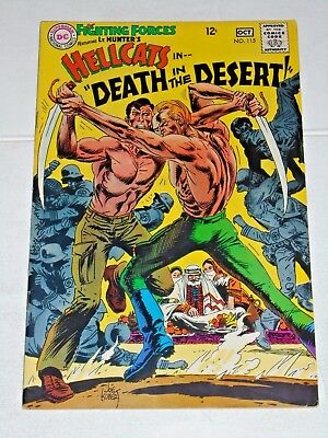 Our Fighting Forces #115 comic 1968