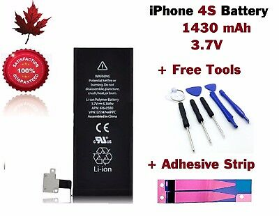 iPhone 4S Replacement Battery With Repair Tools & Adhesive Strip
