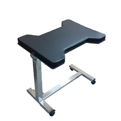 """MCM320-MB Hourglass Shaped Hand/Arm Table w/Mobile Base Locking Casters 2"""" Pad"""