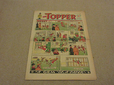 THE TOPPER COMIC, No 520- Jan 19th 1963- with  BERYL THE PERIL- good condition-