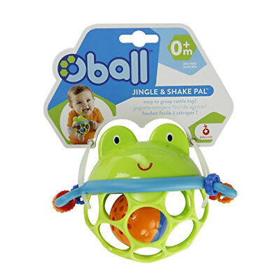 Oball Frog Musical Toy Jingle & Shake Pal Baby Toy/Rattle Infant Toddler