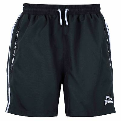 Short LONSDALE Marine Homme Medium NEUF / Woven Shorts Navy Mens NEW