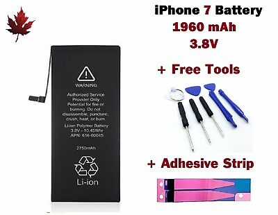iPhone 7 Replacement Battery With Repair Tools & Adhesive Strip