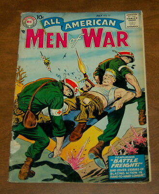 All American Men Of War # 47 Silver Age 1957 Low Grade Gd- Dc Comics