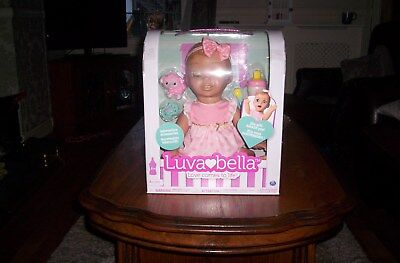 luvabella blonde interactive doll brand new in box