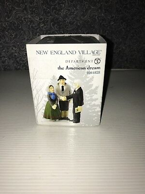 Dept 56 New England Accessory 'The American Dream' Buy House #4044828 New In Box