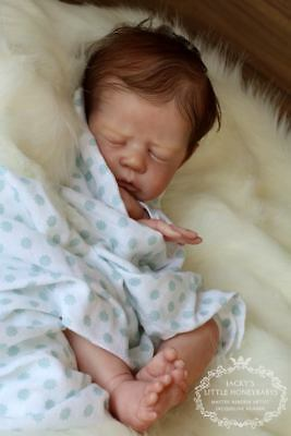BRAND NEW Reborn Doll Kit Lil' Chick Realistic Fake Baby girl NOT SILICONE