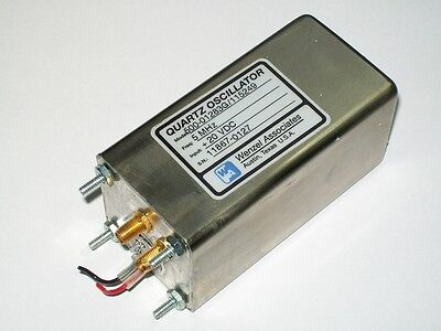 WENZEL crystal quartz oscillator 5 mhz time frequency standard low noise