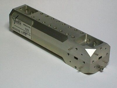 QUINSTAR WR22 waveguide microwave directional coupler 33-50ghz Q band