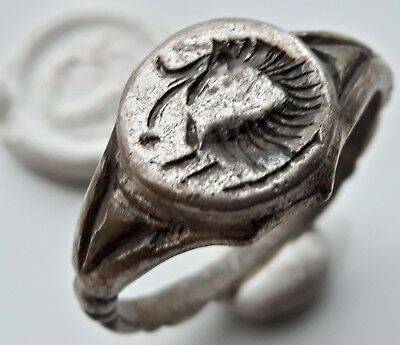 Celtic Silver ** Wolf Ring ** Amazing Ring ** !! Unique & Rare !!