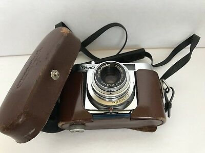 Voigtlander Vito B - 35mm Camera - 1:3.5/50mm With Leather Case