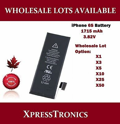 iPhone 6S Replacement Battery Wholesale Lots Available