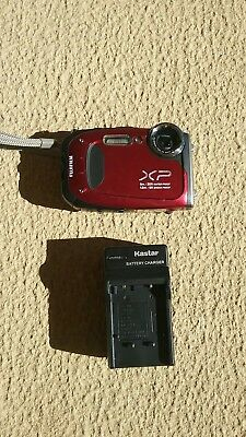 Fujifilm FinePix XP60 Digital Camera (Red) GREAT SHAPE