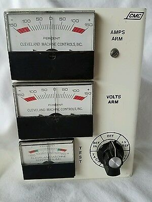 Analog percent meters,  Cleveland Machine Controls, Inc.