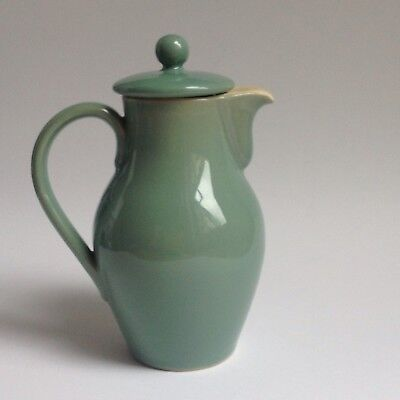Vintage Denby Manor Green Coffee Pot 1.5 Pint