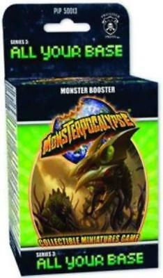 Privateer Monsterpocal Series #3 - All Your Base, Monster Booster Pack Box MINT