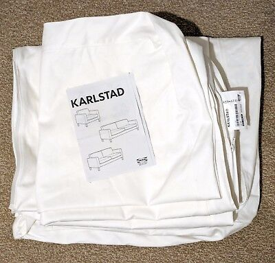 Original replacement IKEA Karlstad White/Cream 2 seater sofa cover