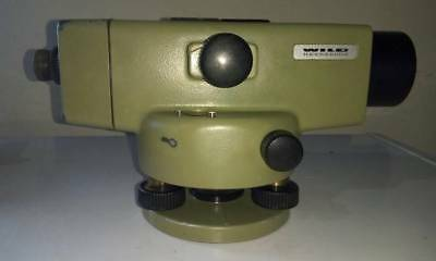 WILD LEICA NA2 WITH NA2 with FOIF MICROMETER PLATE FS1. High Accuracy Precision