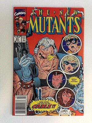 The New Mutants #87 1st appearance of Cable comic NM+