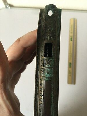 Rare Brass Door Plate Door Part Pull Vintage Doorknob Antique Beautiful
