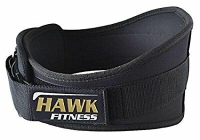Weight Lifting Belt 5 Inch Weightlifting Neoprene Mesh Back Support Size Large