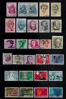 SWITZERLAND - mixed collection No.20