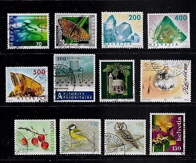 SWITZERLAND - mixed collection No.22, 2000-2007