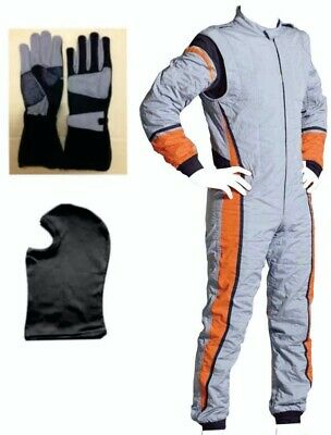Go Kart Cordura Race Suit BLACK with inside Towel Lining  - Offer Price