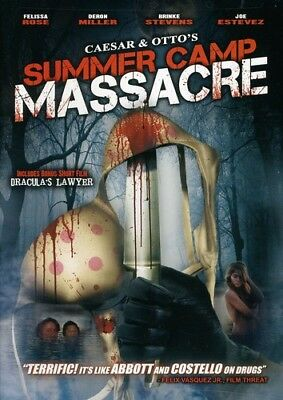 Caesar and Otto's Summer Camp Massacre (DVD Used Like New) DVD-R/WS
