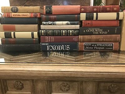 Lot of 10 Antique Vintage Collectible Old Rare Hard To Find Books Unsorted