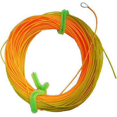5pcs//pack Fishing tapered leader 7.6ft fly line Knot Loop fly snap/µ swivel