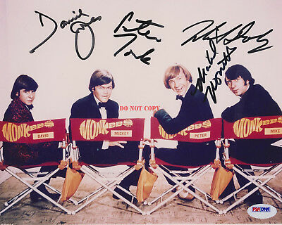 The Monkees Autographed 8x10 Signed Photo Reprint Jon Bon Jovi