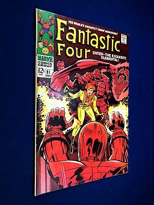 Fantastic Four #81 (1968 Marvel) The Wiard appearance Silver Age NO RESERVE