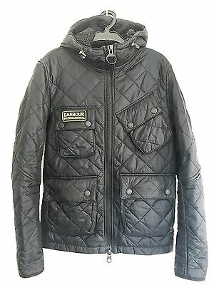 Barbour International England Men Steve McQueen Daytona Biker Paxton Jacket S