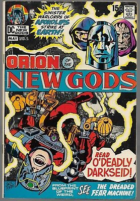 New Gods #2 Early Darkseid 1st Cover DC 1971 Fine- (FN-) Kirby