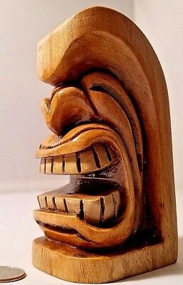 All Wood TIKI Hand Carved in the Pacific Islands by the Artist JADO