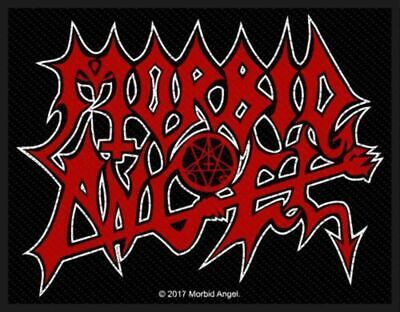 Morbid Angel Red Logo Patch Death Metal Official New
