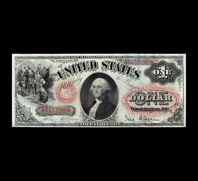 Scarce 1878 $1 Legal Tender Strong Very Fine+ Condition