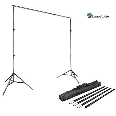 Photography Background Backdrop Support LimoStudio 10 Ft Crossbar 3 Legs Stages
