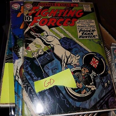 Our Fighting Forces #63, DC Original Silver Age, GD Condition